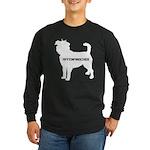affenpinscher Long Sleeve Dark T-Shirt