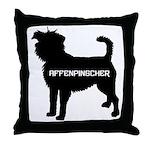 affenpinscher Throw Pillow