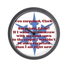 You Surprised, Clark? Wall Clock