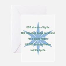 250 Strands of Light Greeting Cards