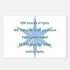 250 Strands of Light Postcards (Package of 8)