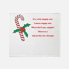 Nipply Throw Blanket