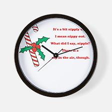 Nipply Wall Clock