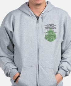Christmas Vacation Department Store Scene Zip Hoodie