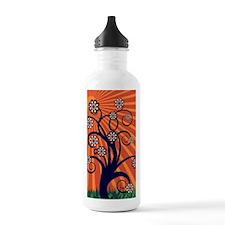 Whimsical Spring Tree  Water Bottle