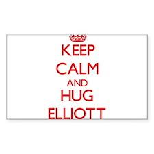 Keep Calm and HUG Elliott Decal