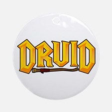 Druid @ eShirtLabs.Com Ornament (Round)