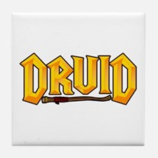 Druid @ eShirtLabs.Com Tile Coaster