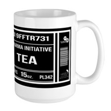 Dharma Initiative Tea Mug Black Swan 15 Oz Mugs