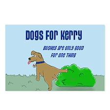 Cute Anti kerry Postcards (Package of 8)