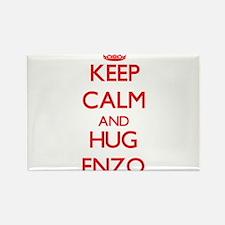 Keep Calm and HUG Enzo Magnets