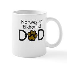 Norwegian Elkhound Dad Mugs