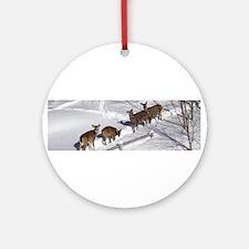 Deer Wonderland Ornament (Round)