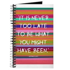 Its Never too Late to Be Journal
