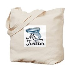 Mr Twister Tote Bag