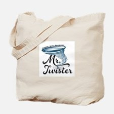 Mr Twister Tote Bag
