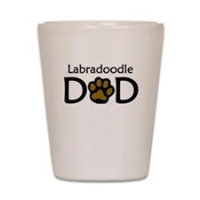 Labradoodle Dad Shot Glass