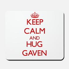 Keep Calm and HUG Gaven Mousepad