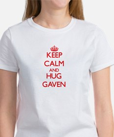 Keep Calm and HUG Gaven T-Shirt