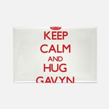 Keep Calm and HUG Gavyn Magnets