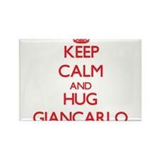 Keep Calm and HUG Giancarlo Magnets