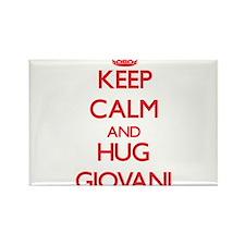 Keep Calm and HUG Giovani Magnets