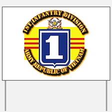 ARVN - 1st Infantry Division Yard Sign