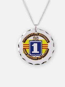 ARVN - 1st Infantry Division Necklace