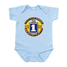 ARVN - 1st Infantry Division Infant Bodysuit