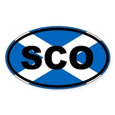 Scotland flag Decal