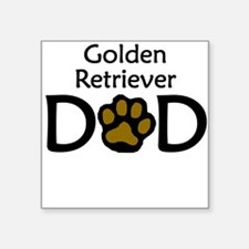 Golden Retriever Dad Sticker