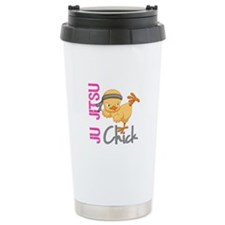 Ju Jitsu Chick 2 Travel Coffee Mug