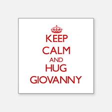 Keep Calm and HUG Giovanny Sticker