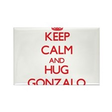 Keep Calm and HUG Gonzalo Magnets
