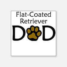 Flat-Coated Retriever Dad Sticker