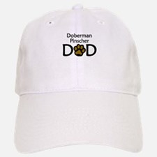 Doberman Pinscher Dad Baseball Baseball Baseball Cap
