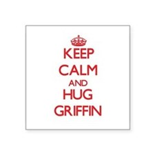 Keep Calm and HUG Griffin Sticker