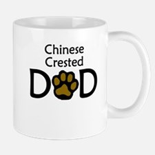 Chinese Crested Dad Mugs