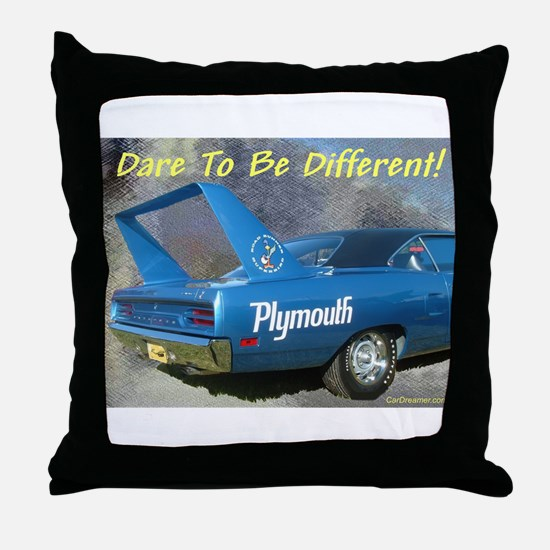 """""""Road Runner Superbird"""" Throw Pillow"""