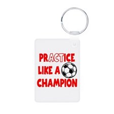 PRACTICE, SOCCER Keychains