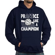 PRACTICE, VOLLEYBALL Hoodie