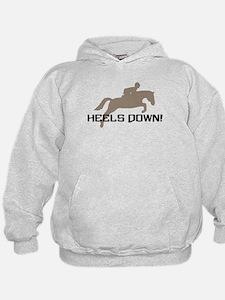 heels down hunter Hoodie