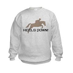 heels down hunter Sweatshirt