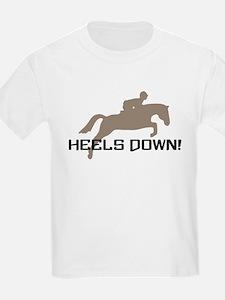 heels down hunter T-Shirt