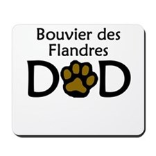 Bouvier des Flandres Dad Mousepad