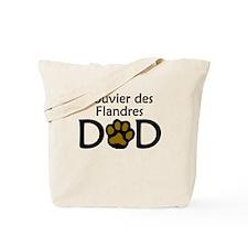Bouvier des Flandres Dad Tote Bag