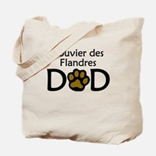 Bouvier des Flandres Dad Tote Bag