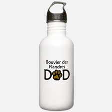 Bouvier des Flandres Dad Water Bottle