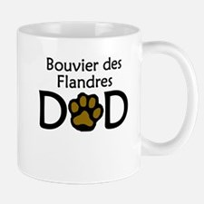 Bouvier des Flandres Dad Mugs