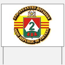 ARVN - 2nd Infantry Division Yard Sign